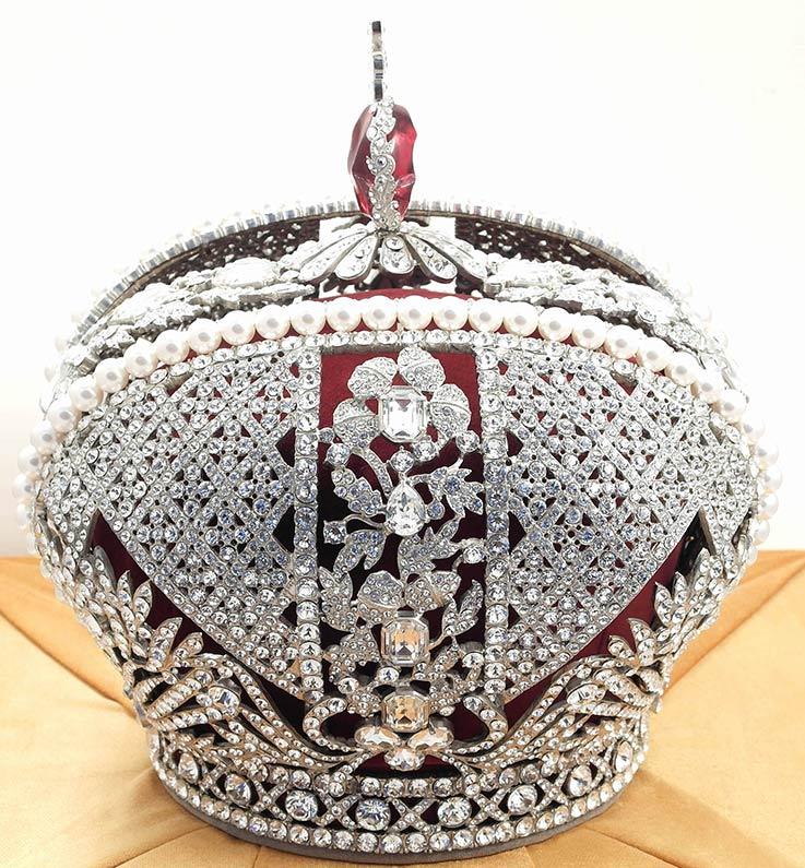 Корону российской империи сделать своими руками
